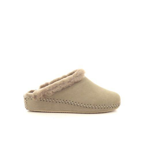 4t4 damesschoenen pantoffel naturel 210496