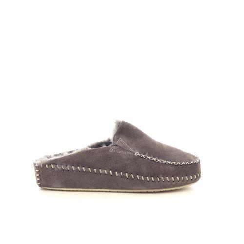 4t4 damesschoenen pantoffel taupe 217821