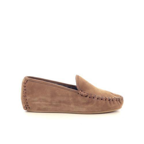 4t4 damesschoenen pantoffel taupe 217844