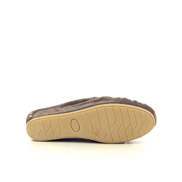 4t4 damesschoenen pantoffel taupe 189987