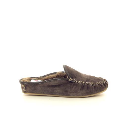 4t4  pantoffel taupe 189987