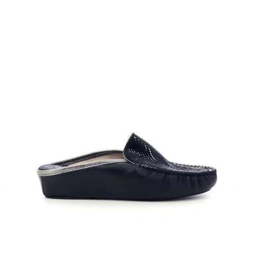 4t4  pantoffel zwart 210494