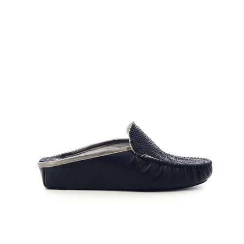 4t4  pantoffel zwart 217815