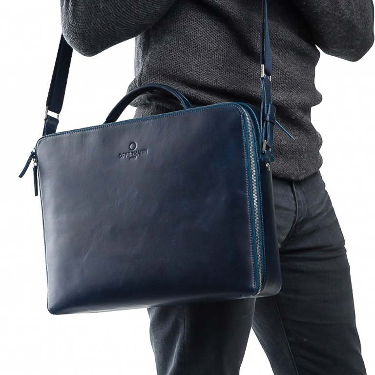 Offerman workbag blauw L
