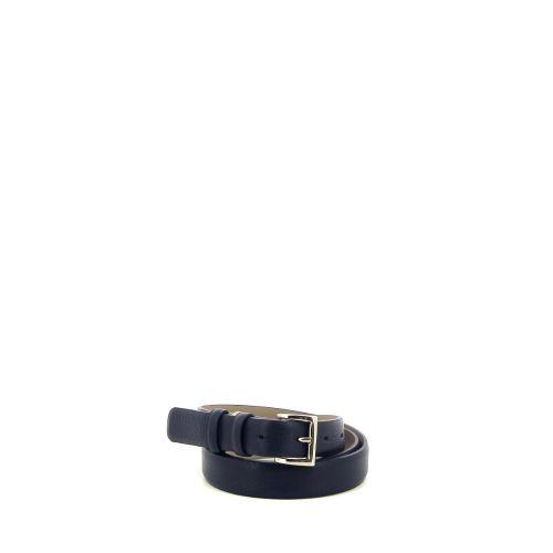 Abro accessoires riem donkerblauw 215371