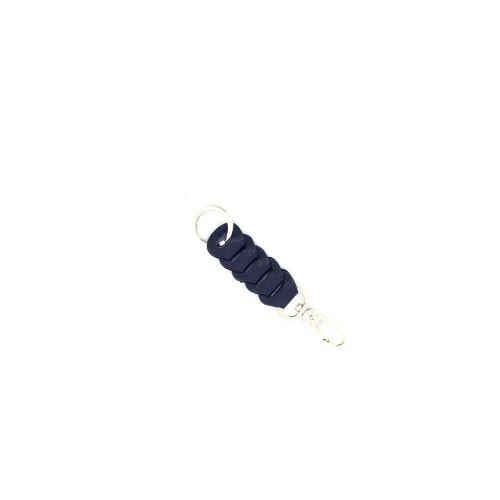 Abro accessoires sleutelhanger donkerblauw 215409