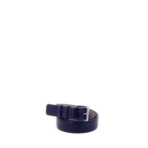 Abro accessoires riem zwart 211318