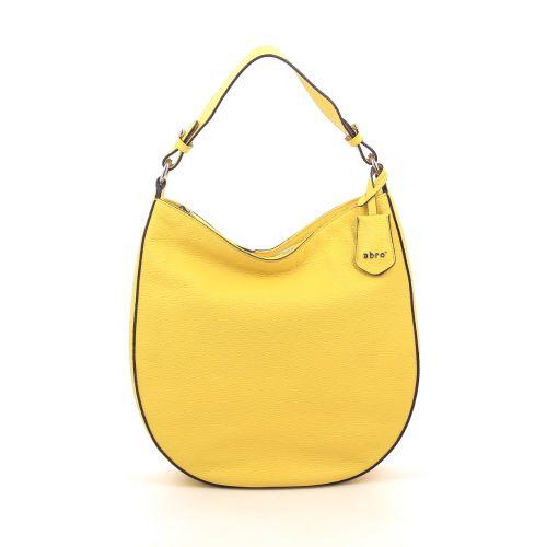 Abro tassen handtas geel 206409