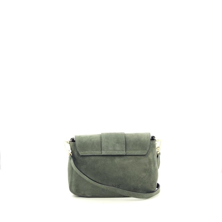 Abro tassen handtas grijsgroen 206505