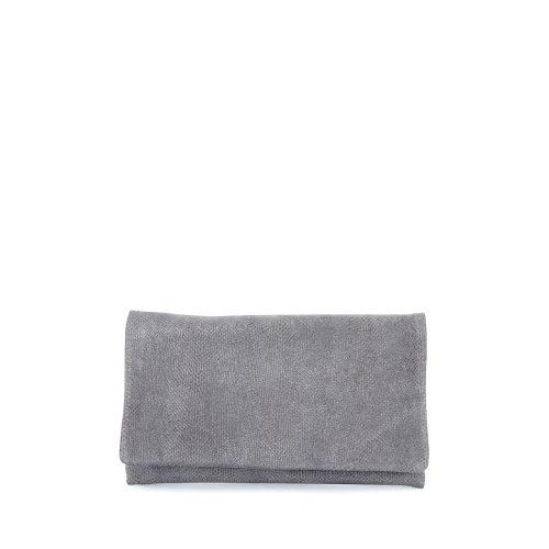 Abro tassen handtas zilver 174780