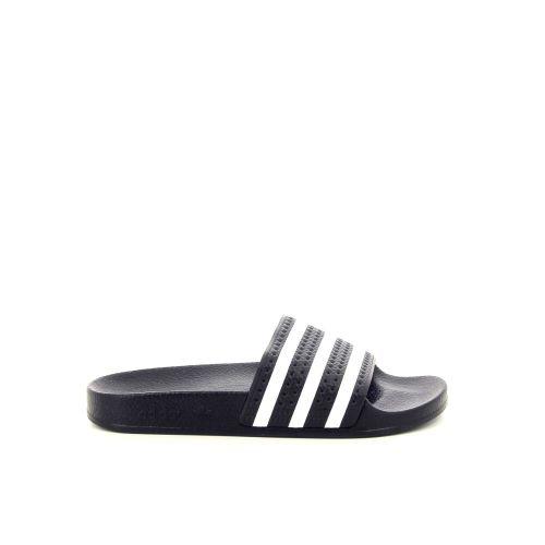 Adidas damesschoenen sleffer donkerblauw 186826