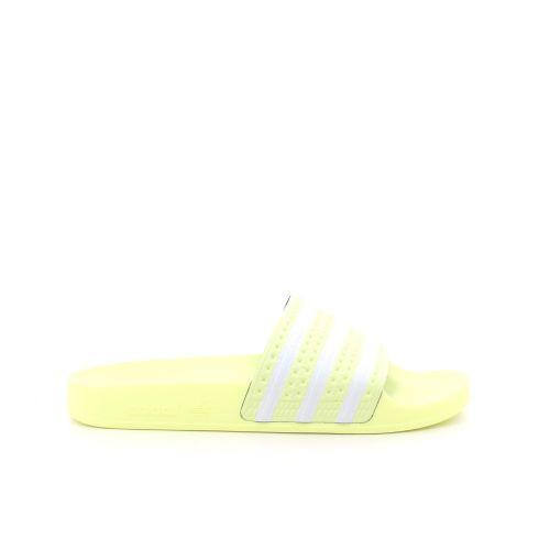 Adidas damesschoenen sleffer limoengeel 201891