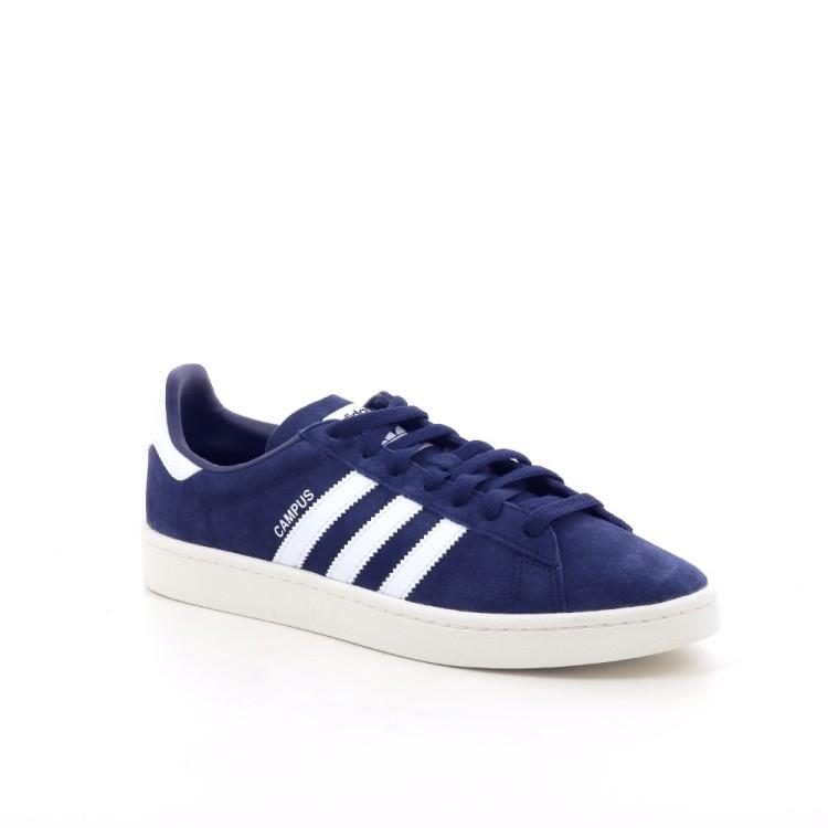 Adidas herenschoenen sneaker donkerblauw 197328