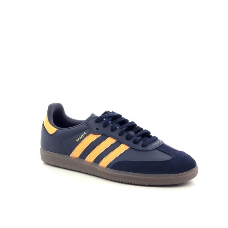 Adidas herenschoenen sneaker donkerblauw 197333