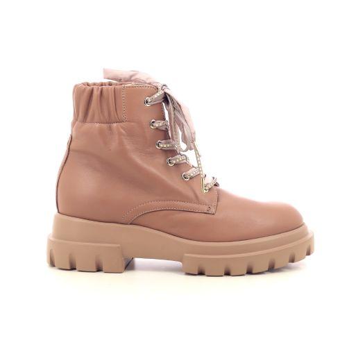 Agl damesschoenen boots camel 216140