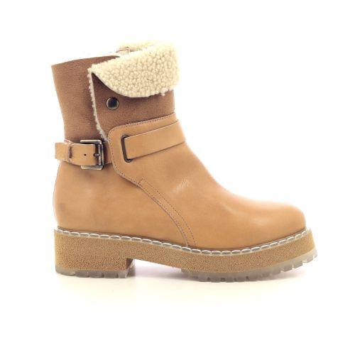 Agl damesschoenen boots camel 216880