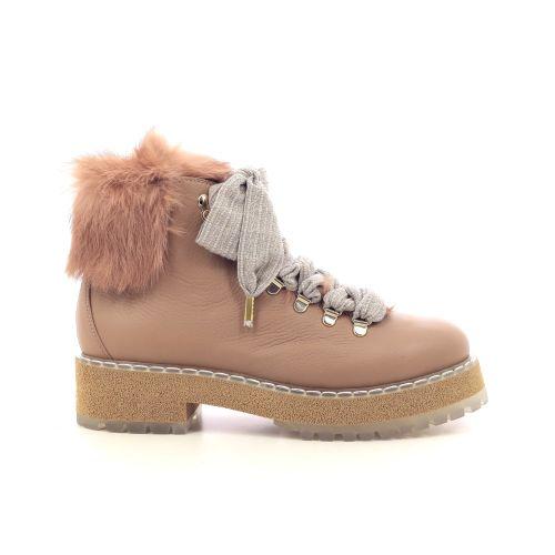 Agl damesschoenen boots camel 216886