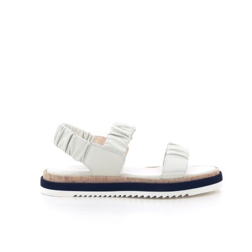 Agl damesschoenen sandaal ecru 202934