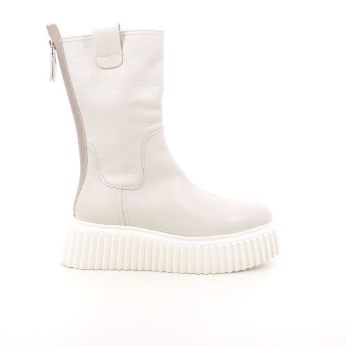 Agl damesschoenen boots ecru 216881