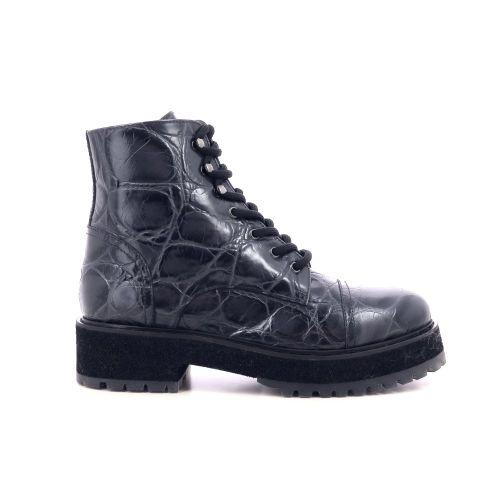 Agl damesschoenen boots grijs 216147