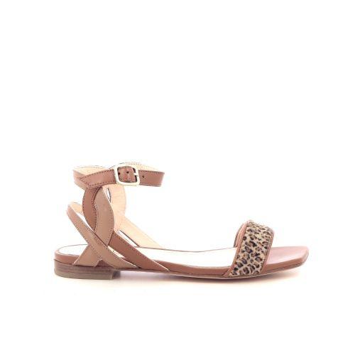 Agl damesschoenen sandaal naturel 214806