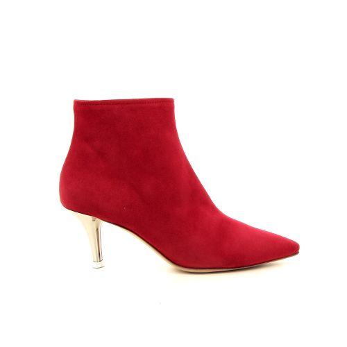 Agl damesschoenen boots rood 184401