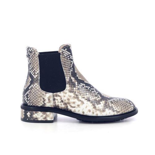 Agl damesschoenen boots taupe 207775