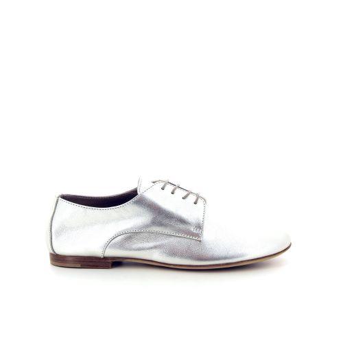 Agl damesschoenen veterschoen zilver 168936
