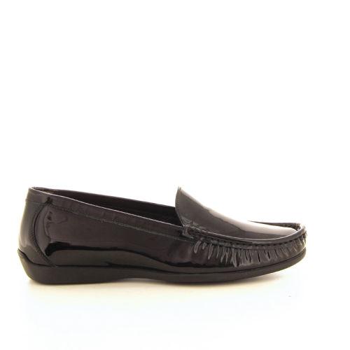 Agl damesschoenen mocassin zwart 16802