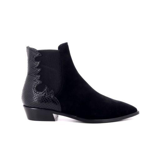 Agl damesschoenen boots zwart 207770