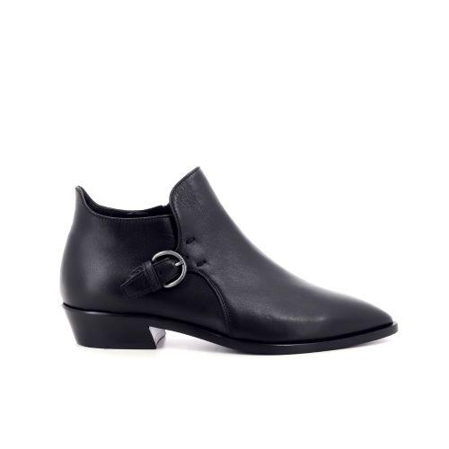 Agl damesschoenen boots zwart 207772