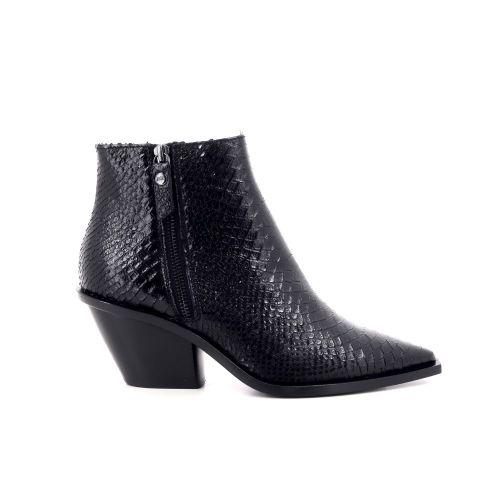 Agl damesschoenen boots zwart 207785