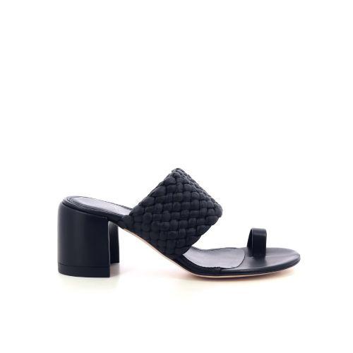 Agl damesschoenen sleffer zwart 212014
