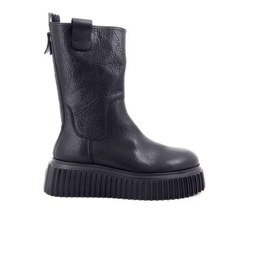 Agl damesschoenen boots zwart 216142