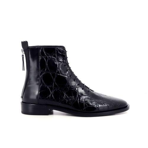 Agl damesschoenen boots zwart 216143