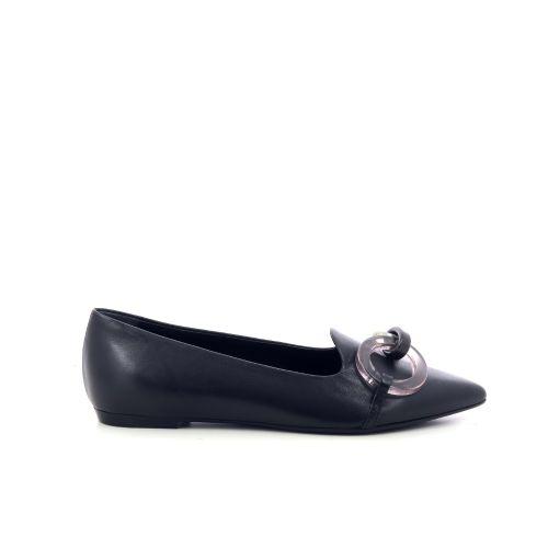 Agl damesschoenen mocassin zwart 216161