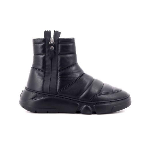 Agl damesschoenen boots zwart 216878