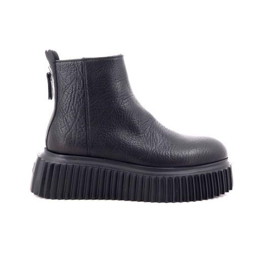 Agl damesschoenen boots zwart 216884