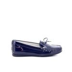 Agl damesschoenen mocassin blauw 98811