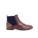 Agl damesschoenen boots cognac 16832