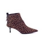 Agl damesschoenen boots cognac 199295