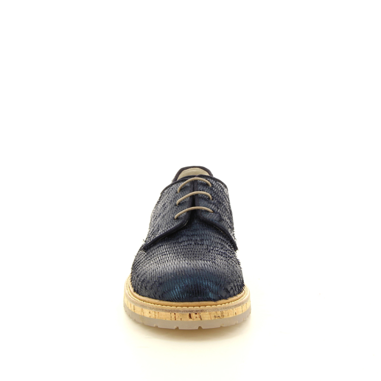 Agl damesschoenen veterschoen donkerblauw 98798