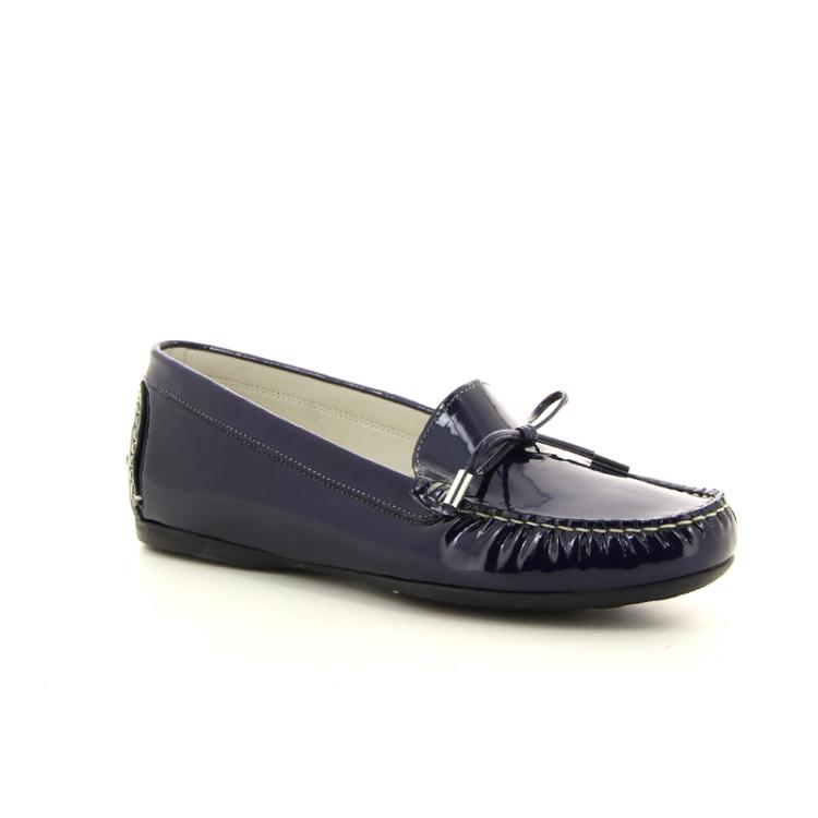 Agl damesschoenen mocassin donkerblauw 98811