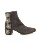 Agl damesschoenen boots grijs 18269
