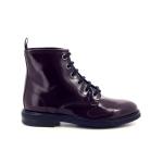 Agl damesschoenen boots rood 199275