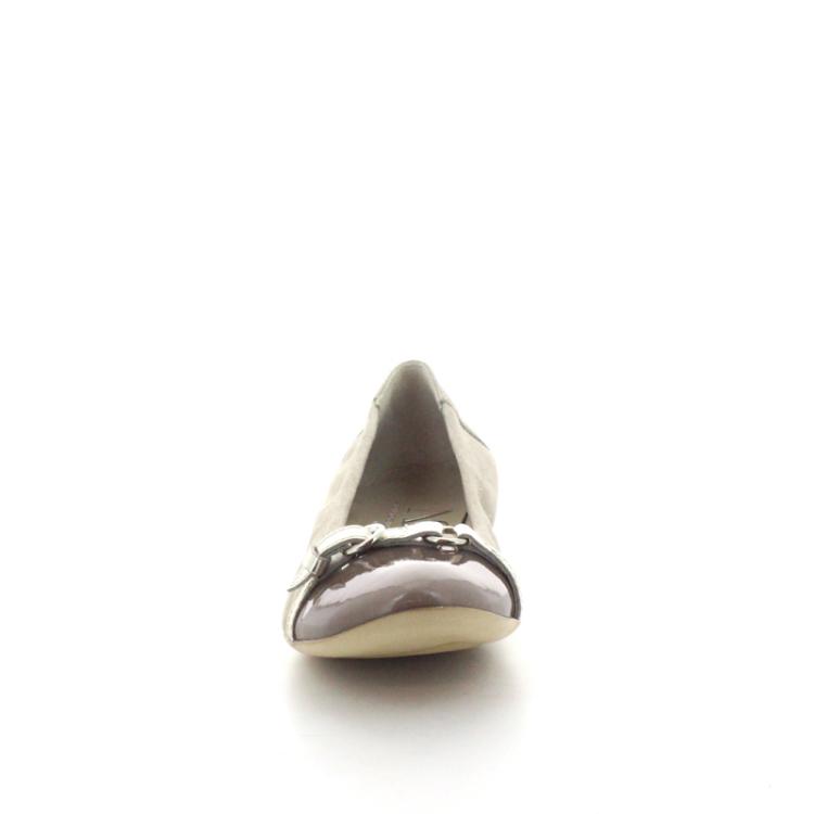 Agl damesschoenen ballerina taupe 98525