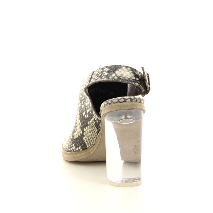 Agl damesschoenen sandaal taupe 12278