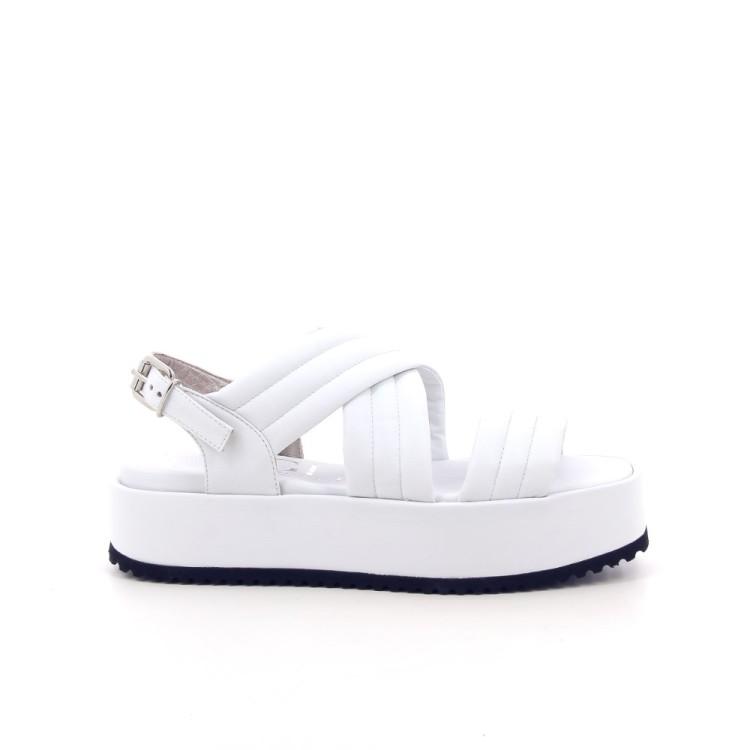 Agl damesschoenen sandaal wit 192380