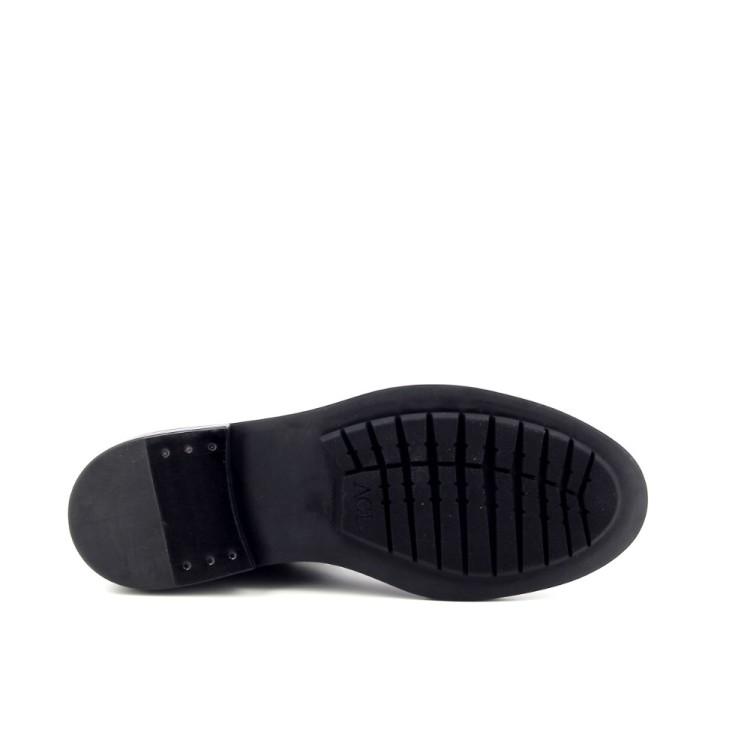 Agl damesschoenen boots zwart 188954