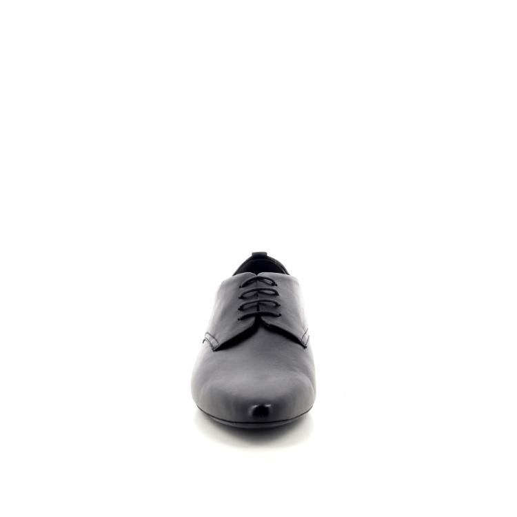 Agl damesschoenen veterschoen zwart 191781